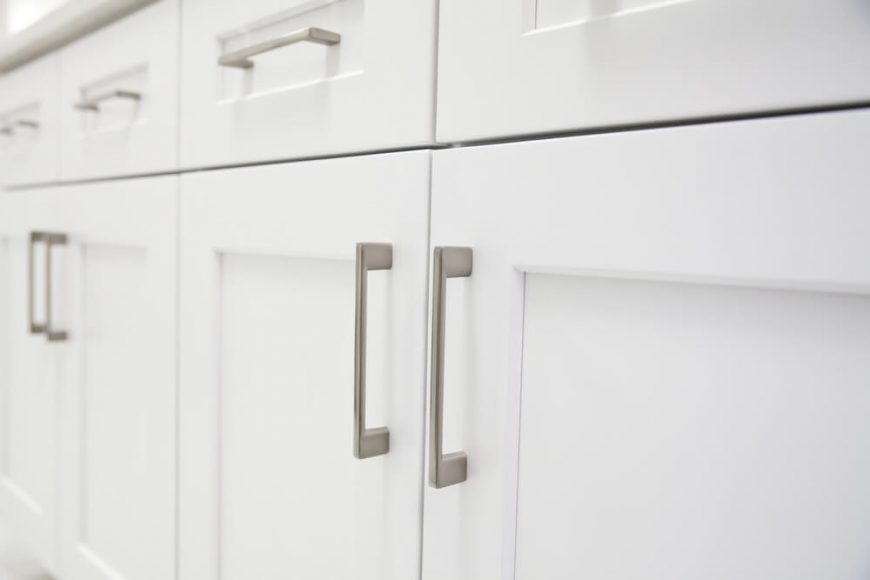 white-kitchen-cabinet-closeup